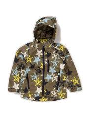Klaus jacket, water resistance 6.000 mm. - Deep liche yellow star