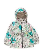 Kerry jacket, water resistance 5.000 mm. - Flower print