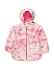 Kamille jacket, water resistance 5.000 mm. - Pink sky print
