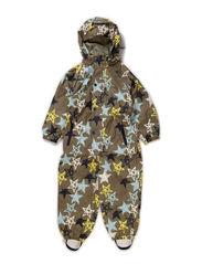Norris suit, water resistance 6.000 mm. - Deep liche yellow star