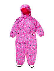 Norris suit, water resistance 6.000 mm. - Neon pink flower
