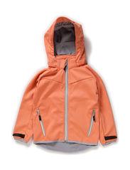 Kristar jacket, water resistance 3000 mm. - Thermal orange