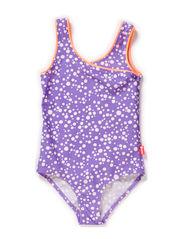 Killa swim suit - Dahlia purple dot