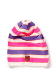 Nini hood - Neon pink stripe