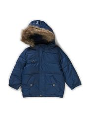 Alex baby jacket - Halo Blue