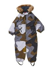Baggie suit - Grey Camou.print