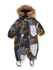 Snowbaggie suit - Grey Camou.print