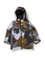 Afton jacket - Grey Camou.print