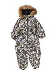 Baggie suit - Beige zebra