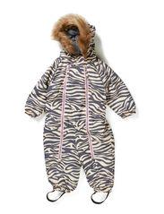 Snowbaggie suit - Beige zebra