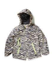 Anita jacket - Beige zebra