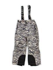 Audrey  pants - Beige zebra