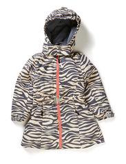 Alena coat - Beige zebra