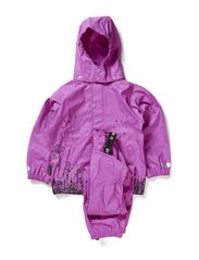 Rubber Rain Set - Purple flower Print