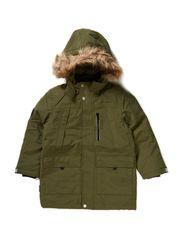 Aron parka coat - Winter green