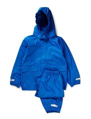 Authentic rubber rain set - Directoire blue