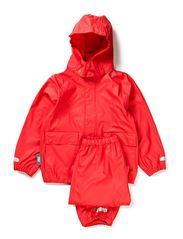 Authentic rubber rain set - Rasberry Pink
