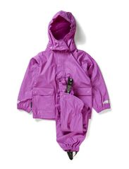 Authentic Rubber rain set - Cactus Purple