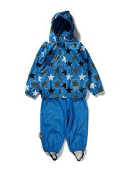 Rubber rain set - B.Blue stars
