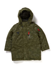 Tiger coat T2 - Roman Green