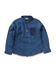 Roland shirt - Denim Blue