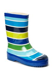 Rubber boots - Green stripes