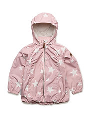 Jacket Althea with detachable hood allover - PEACHSKIN / ROSE