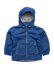 Jacket Klas with detachable hood - TRUE BLUE / BLUE