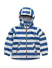 Jacket Klas with detachable hood allover - TRUE BLUE / BLUE