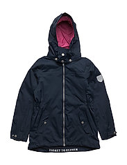 Jacket Karola with detachable hood - TOTAL ECLIPSE / BLUE
