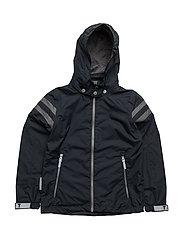 Jacket Noland with detachable hood - TOTAL ECLIPSE / BLUE