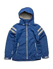 Jacket Noland with detachable hood - TRUE BLUE / BLUE