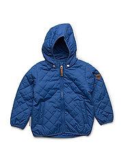 Jacket Mika with detachable hood - TRUE BLUE / BLUE