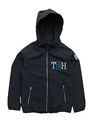 Jacket Softshell Kristar with detachable hood - TOTAL ECLIPSE / BLUE