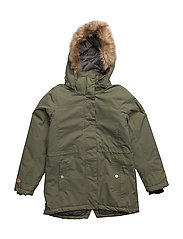 Mary jacket with detachable hood - FOUR LEAF CLOVER