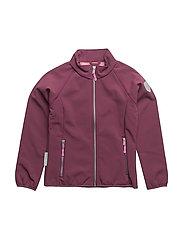 Jennifer softshell jacket 1/1 sleeves - AMARANTH