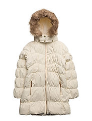 Martha jacket with detachable hood - WINTER WHITE|WHITE
