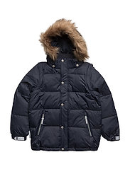 Michelle down jacket with detachable hood - TOTAL ECLIPSE