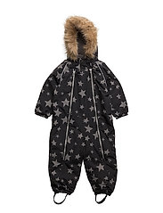 Baggie snowsuit with detachable hood allover - ALLOVER
