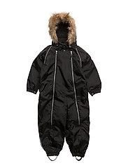 Suit snowbaggie with detachable hood - JET BLACK