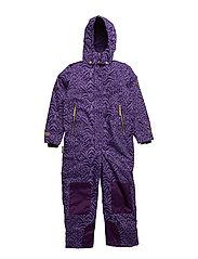 Matti suit with detachable hood allover - PARACHUTE PURPLE
