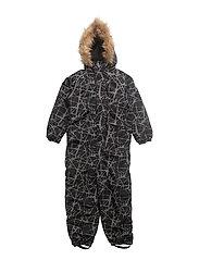 Othello snowsuit with detachable hood allover - CASTLEROCK