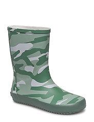 Rubber boots allover - DUCK GREEN