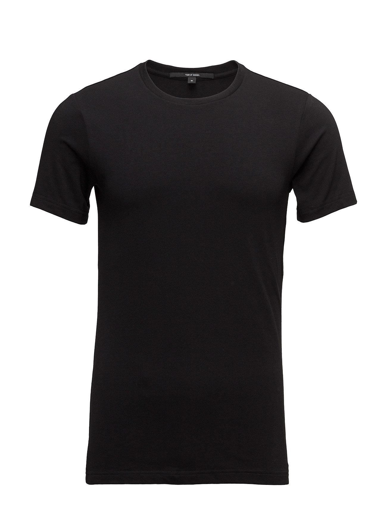 Emerik Tiger of Sweden T-shirts til Herrer i Sort