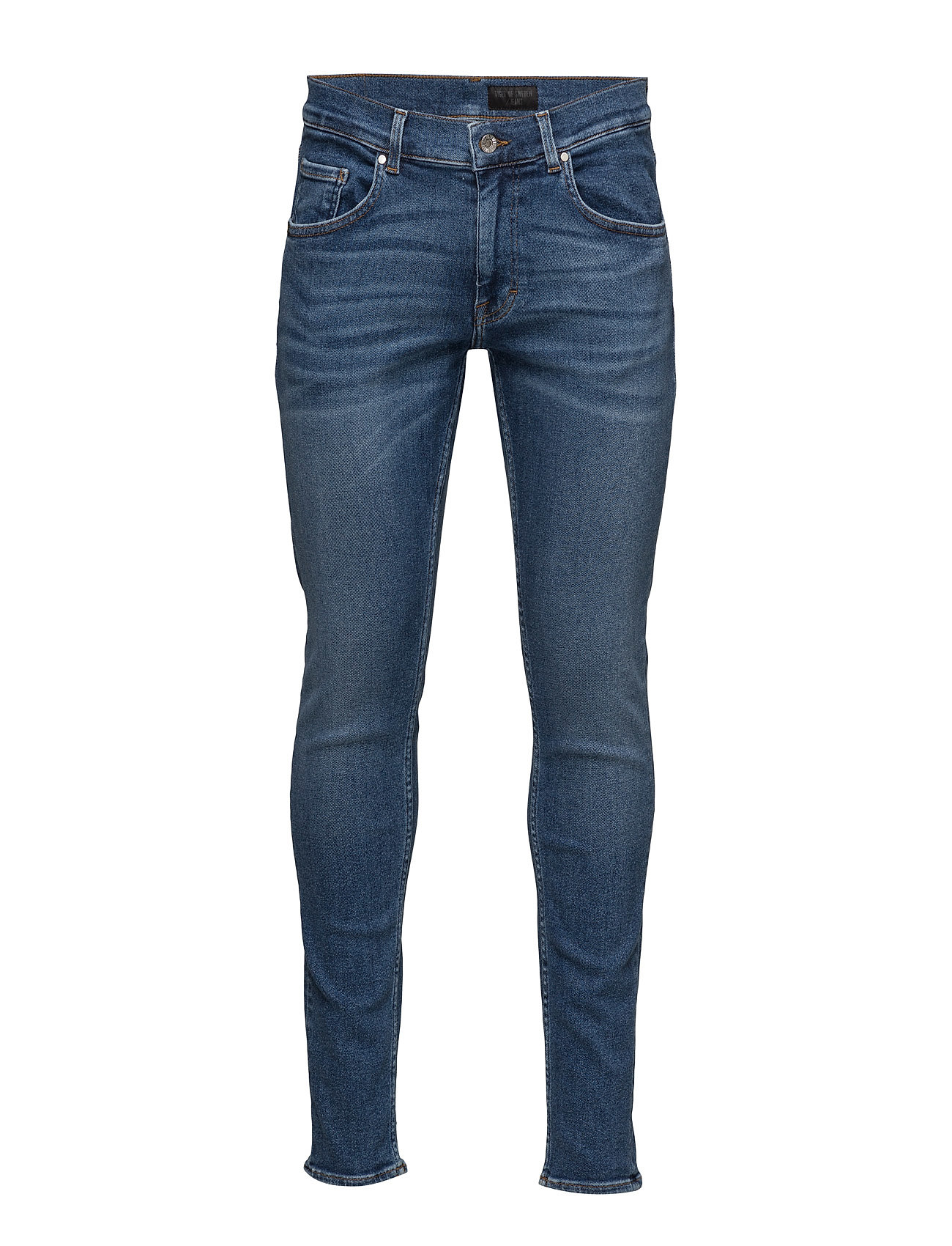 Slim Tiger of Sweden Jeans Skinny til Herrer i Medium Blå
