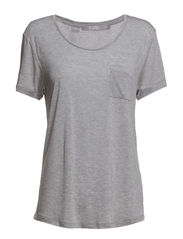 POLY t-shirt - Dark grey Mel