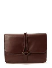 Romy Clutch Leather - Pinot