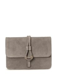 Romy Clutch Suede - Grey