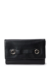 Charlotte Clutch Leather - Black