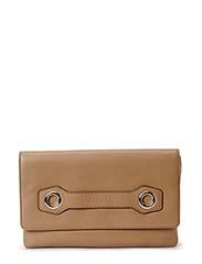 Charlotte Clutch Leather - SAHARA